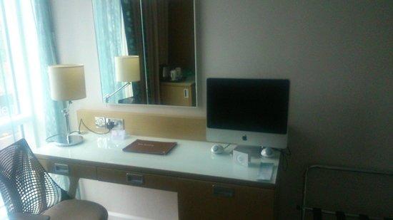 Hilton Garden Inn Glasgow City Centre: apple tv