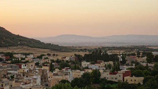 Dar KamalChaoui : Sunset from the roof