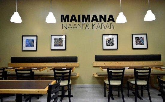 Maimana Naan & Kabab Restaurant: Maimana Restaurant