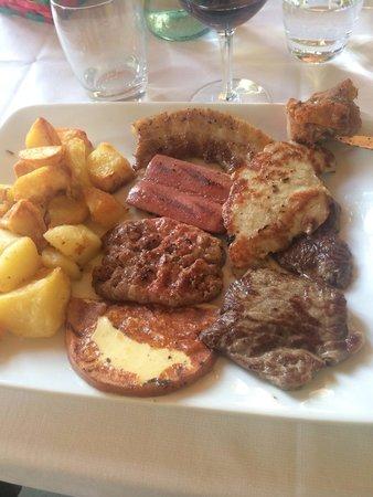 Ristorante Bella Vita: misto di carne