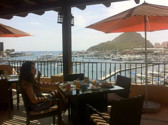 Tesoro Los Cabos: View from Breakfast Restaurant