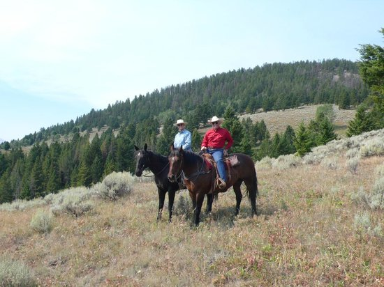 Elkhorn Ranch : Up Tepee Creek