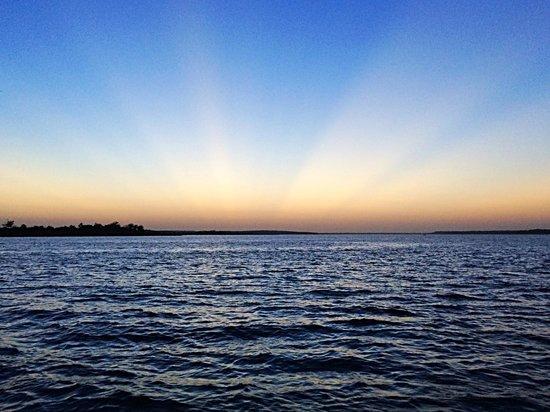 Black Watch Sailing Charters: Beautiful sunset upon the Black Watch