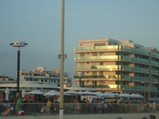 Forte Beach: Parte mais movimentada da orla
