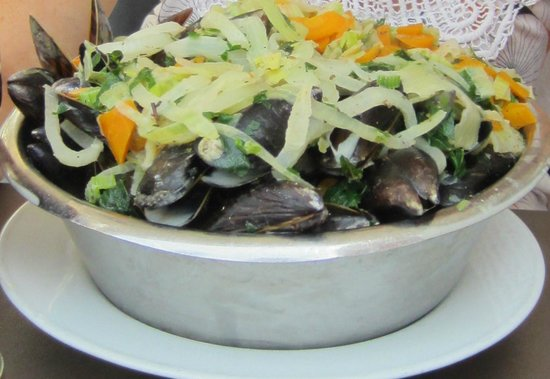 """Maritime: Mussels """"Op de wijze van de Chef"""""""