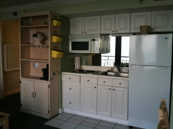 Shell Island Resort : fully equipped kitchen