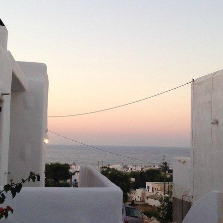 Nikos Mitsis Studios: vue sur la mer