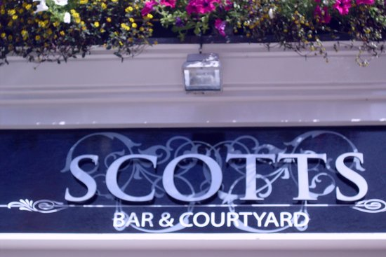 Scotts Hotel: So says the sign
