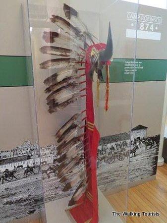 Fort Robinson State Park: Native American headdress