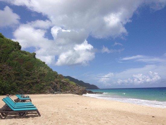 Renaissance St. Croix Carambola Beach Resort & Spa: Beach at the resort