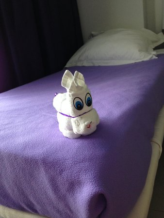Hotel Riu Palace Peninsula: puppy made out of towels