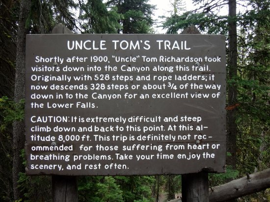 Uncle Tom's Trail : uncle toms trail