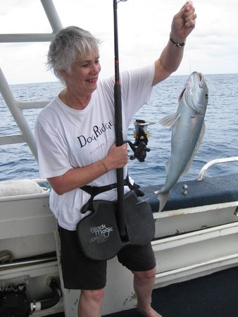 Wild Blue Fishing Charters : Bosses catch