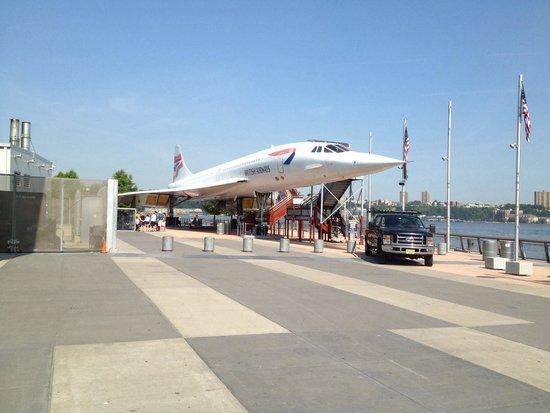 Intrepid Sea, Air & Space Museum : Il concorde, peccato non poterlo provare in volo!