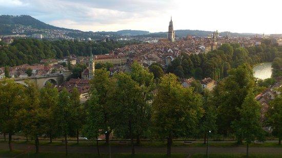 Rose Garden (Rosengarten): Vista do centro histórico