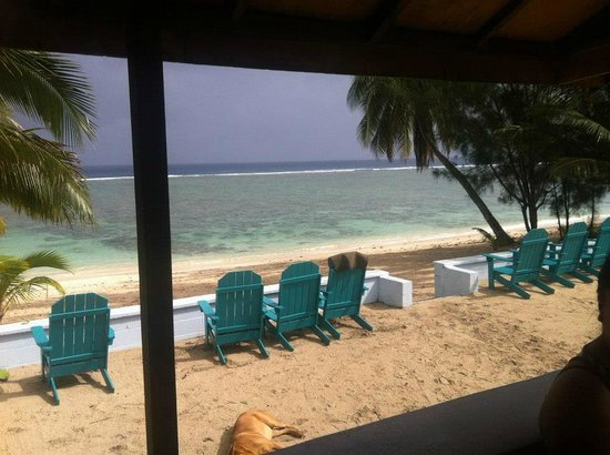 Kia Orana Beach Bungalows : Beach