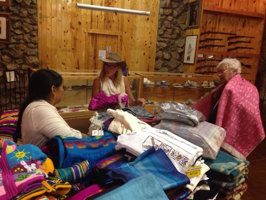 Native American Educational and Cultural Center: The lower level has some outstanding crafts