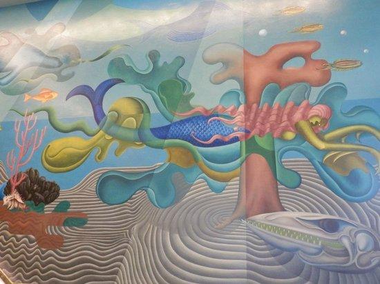 San Francisco Maritime Museum/Aquatic Park Bathhouse Building : First floor murals