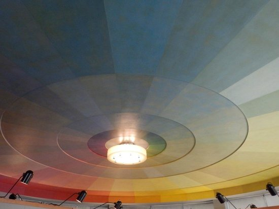San Francisco Maritime Museum/Aquatic Park Bathhouse Building: Second Floor ceiling