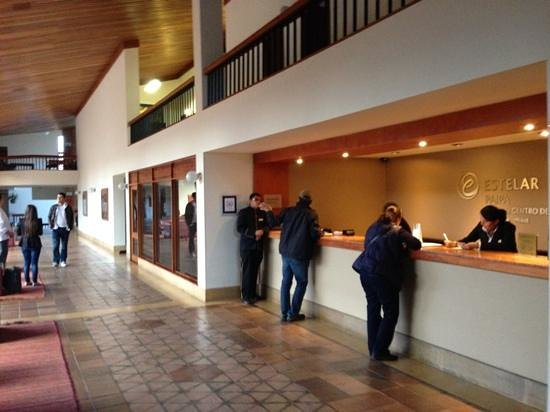 Estelar Paipa Hotel & Convention Center: recepción