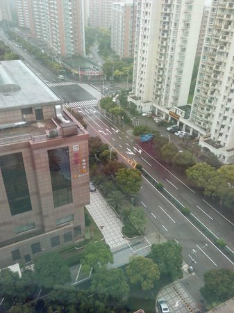 Crowne Plaza Century Park Shanghai : View from the window