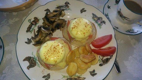 Eagle Landing Bed and Breakfast: Great breakfast!