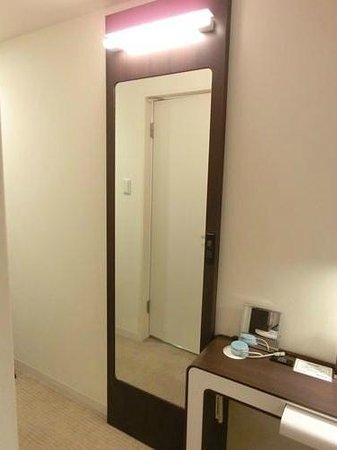 Hotel Gracery Sapporo: 大きな姿見
