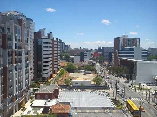 Ibis Styles Curitiba Batel: vista da janela, quartos pares
