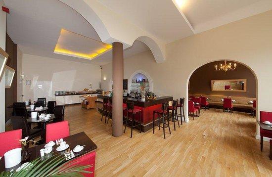 Novum Hotel Holstenwall Hamburg Neustadt: Breakfast room