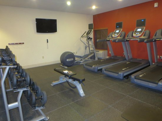 Hampton Inn Tropicana: exercise room