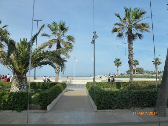 Promenade from cafe of Hotel Neptuno.