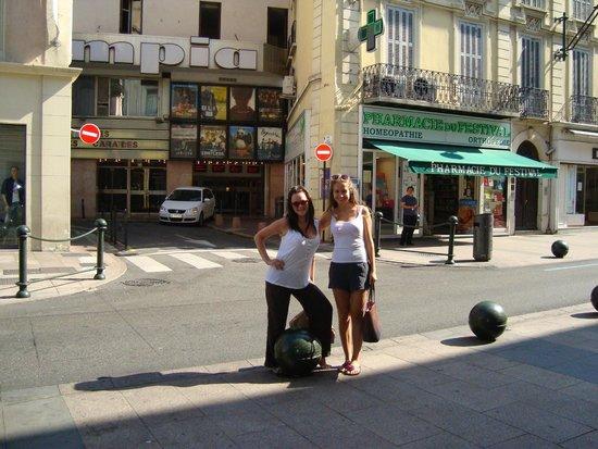 La Croisette : улочки