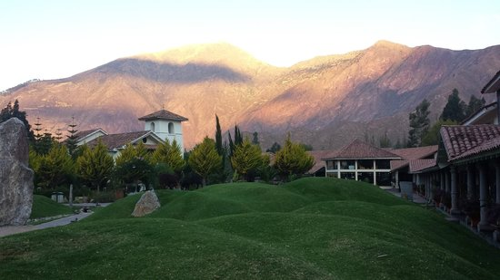Aranwa Sacred Valley Hotel & Wellness: foto do jardim central