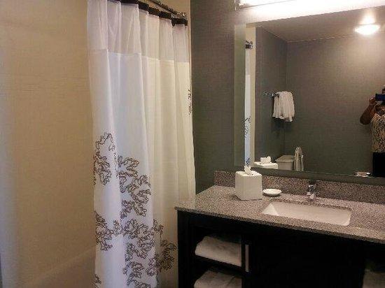 Residence Inn Chicago Wilmette: Bathroom View of the studio suite