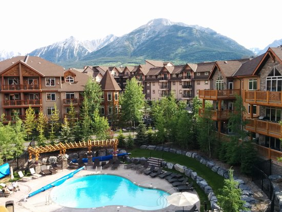 StoneRidge Mountain Resort: view from the balcony