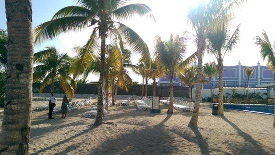 Hotel Riu Palace Jamaica: Beach view