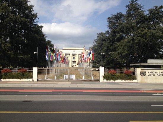 UNOG - Palais des Nations: Entrance