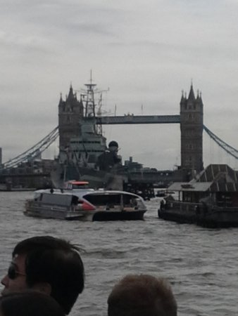 Thames River Boats: Tower Bridge from the Thames