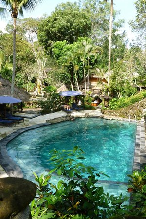 Hotel Tjampuhan & Spa: Pool area near Spa