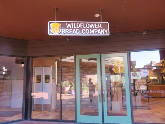 Wildflower Bread Company: Wildflowe sign