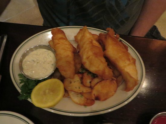 Joe's Seafood, Prime Steak & Stone Crab: Fish and Chips
