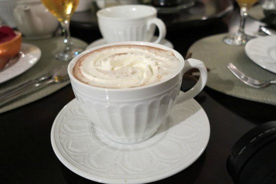 Evergreen B & B: Hot Chocolate