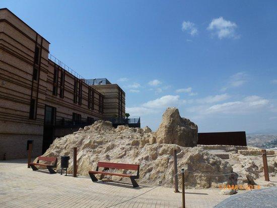 Antiquities in the Hotel grounds, Parador de Lorca.