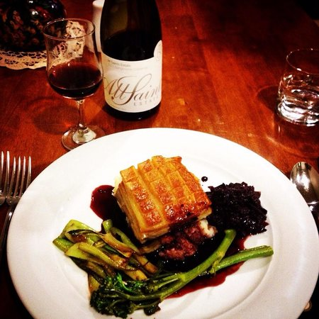 Milawa Muscat Retreat: Peter's perfect pork belly