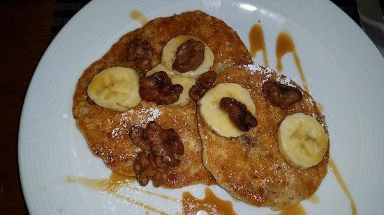 Wyndham Grand Rio Mar Puerto Rico Golf & Beach Resort: Banana gluten free pancakes