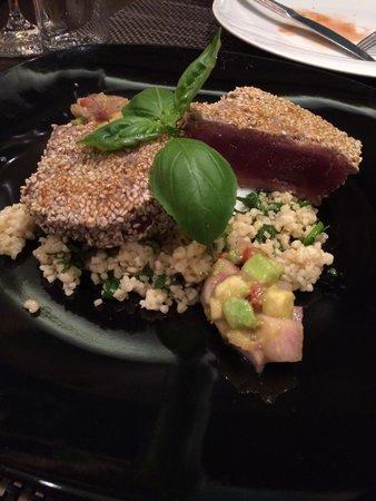 Restaurant Amfora: マグロのグリル