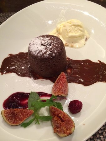 Restaurant Amfora: デザートもいいです。