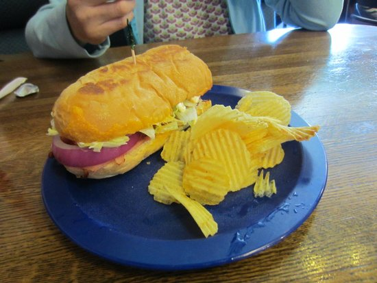 Sven and Ole's Pizza: Sandwich.