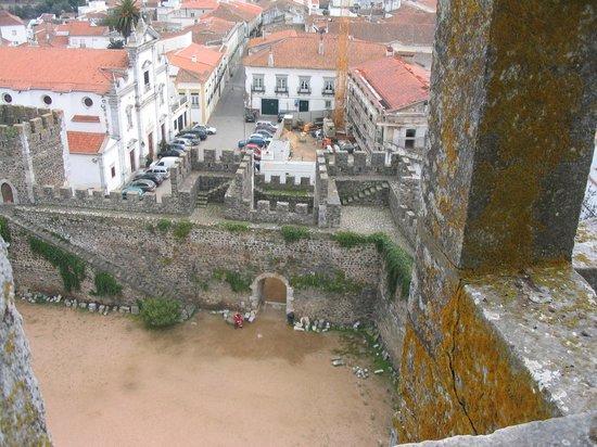 Castelo de Beja: Zicht vanaf het kasteel