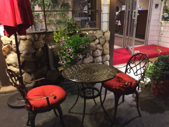 Bavarian Inn, Black Hills: Outside the lobby